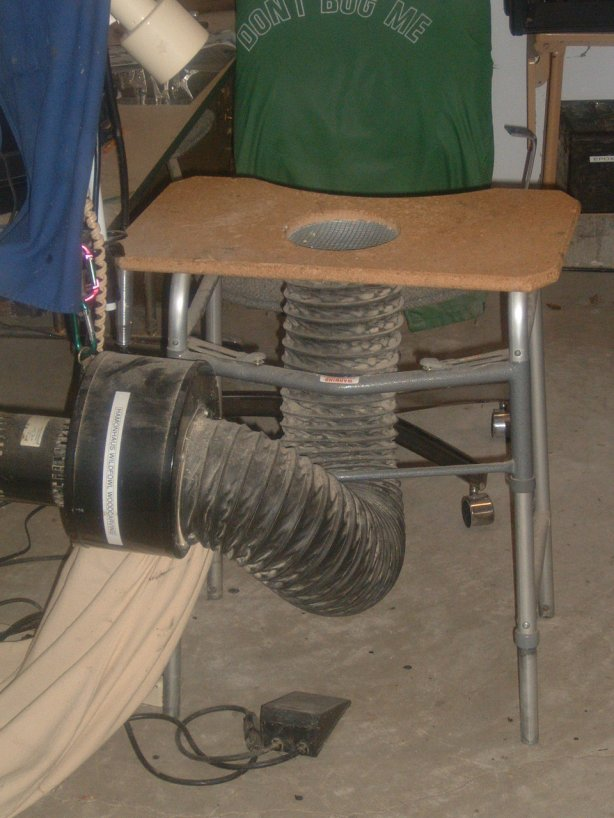 wood carving dust collector