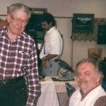 Teacher, Bob Wening and Student, Bill Hamon